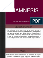 Anamnes Is