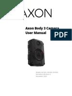 Axon Body 3 User Manual
