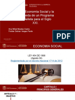La Economia Social y La Busqueda de Un Programa Socialista Para El Siglo Xxi