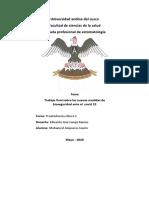 Covid 19 y Las Nuevas Medidas de Bioseguridad