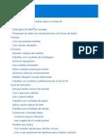 Formatar Modelar Dados PowerBi
