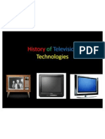 History of Television Technologies