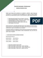DISTRIBUCIÓN FUNCIONARIOS INGRESOS, BAÑO Y PATIO