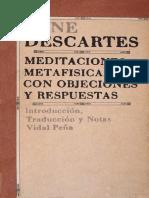 01. DESCARTES Meditaciones Metafisicas tr-vidal-peña
