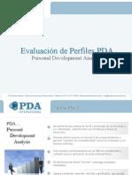 Test Psicométrico PDA