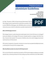 FHA Condominium Guidelines