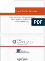 2011 Quality Education for All Poll Results