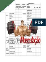 Tabela Musculação - Dicas de Musculação - Word 2007