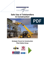 Guidance on the Safe Use of Telehandlers