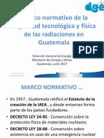 PRESENTACION MARCO REGULADOR 05-06-2017 Medicina Nuclear