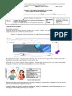 6. Lengua y Literatura - 2do -Unidad - Síntesis Textos Periodísticos - Guía de Trabajo