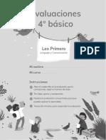 EVALUACIONES - LEO PRIMERO