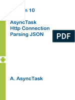 Android-Chapter10-MultiThreading-HttpConnection-JSONParser