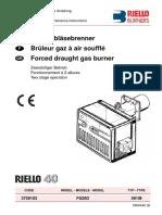 Instruction Manual FS20D509