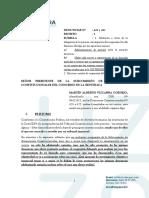 ESCRITO SOBRE SOLICITUD DE INHIBICIÓN- DENUNCIAS 423 Y 427