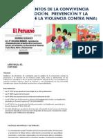 LINEAMIENTOS DE LA CONVIVENCIA