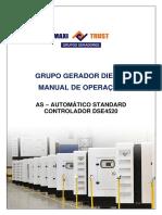 MANUAL DO COMANDO-MAXITRUST