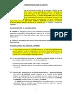 MODELO DE CONTRATO DE LOCACIÓN DE SERVICIOS VARIOS