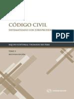 Codigo Civil Sistematizado Tomo II. Thomson Reuters
