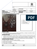 Ficha Tecnica (Licuadora)