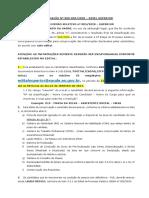 CONVOCAÇÃO N° 008-005-2020 - SUPERIOR