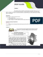 Using Context - 1st Qtr