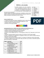 Resumo Aulas Práticas bioquimica experimental