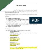 LBO Case Study 1