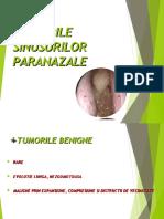 6. TUMORILE SINUSURILOR PARANAZALE