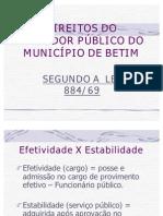 DIREITOS DO SERVIDOR - AULAS DADAS1