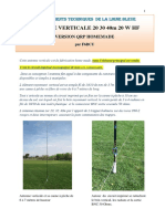 antenne verticale 20-30-40m hf