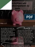 5 Schritten um Finanzkompetent zu sein
