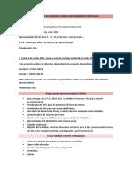 AVALIAÇÃO DA UNIDADE CURRICULAR ITINERÁRIOS TURÍSTICOS