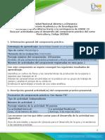 Guía Alterna para el desarrollo del componente práctico y rúbrica de evaluación. Fase 4  y 5