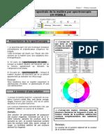.Spectroscopie Visible