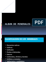 Albun de Minerales