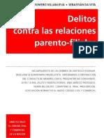 Delitos contra las Relaciones Parento-filiales. 2017. Villanueva0