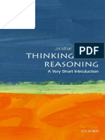 Jonathan St. B.T. Evans - Thinking and Reasoning_ A Very Short Introduction-Oxford University Press, USA (2017)