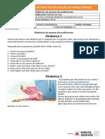 PET 1 ATIVIDADES COMPLEMETARES - 8 ano PROJETO DE VIDA