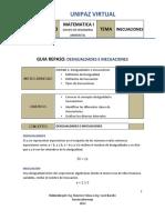 GUIA DE REPASO DESIGUALDADES E INECUACIONES (1)