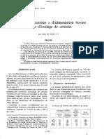 Le Systeme Tunisien Dalimentation Bovine a Base d