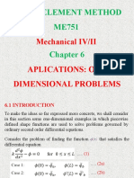 06 Application One Dimensional Problems
