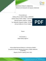 Unidad 3. Fase 3. Métodos de Evaluación de Impacto Ambiental (1)