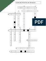 Crucigrama _ Sesión de Grupo