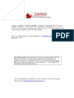 Open Archive TOULOUSE Archive Ouverte (OATAO)