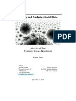 Storing and Analyzing Social Data