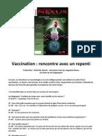 Nexus 44 - Vaccination - rencontre avec un repenti (mai 2006)