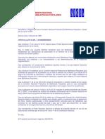 Decreto 1078 Reglamentación Ley 23351