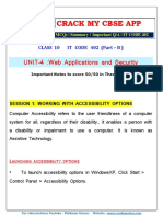 Web Applications and Security It Code 402 Notes