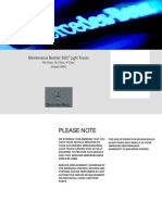 2007 ML-350 Maintainance Manual